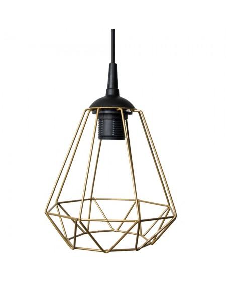 Lampa wisząca geometryczna złota I