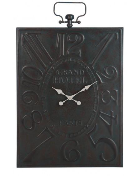 Zegar metalowy Grand Hotel