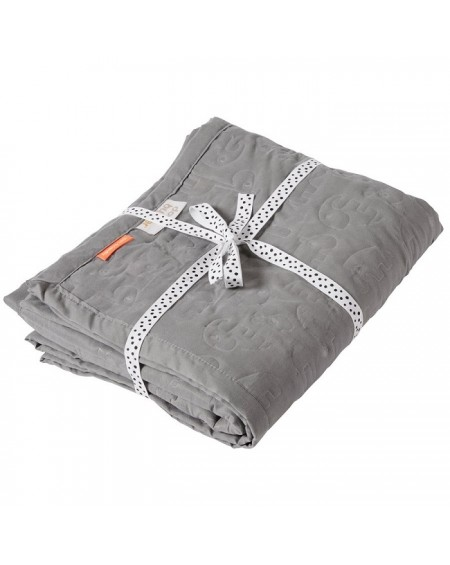 Kołderka Contour Grey 120x150
