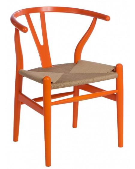 Krzesło Wood orange
