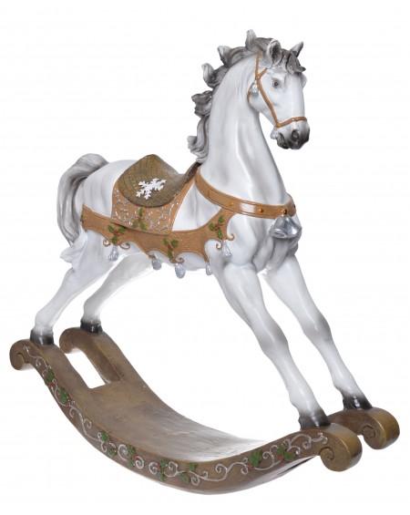 Koń na biegunach maxi