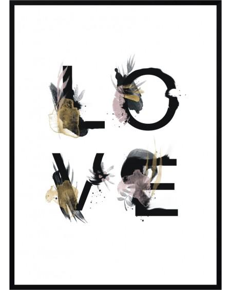 Plakat w ramie Love 61x91
