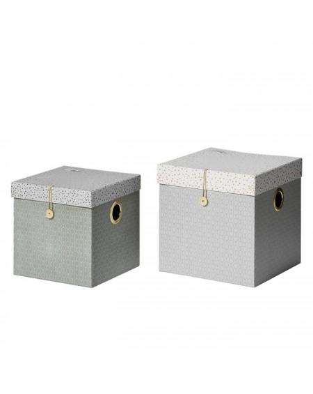 Pudełko 2 szt. Grey