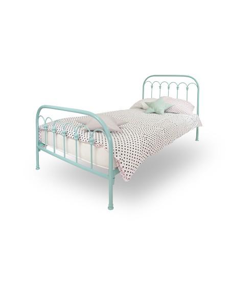 Łóżko metalowe Wave