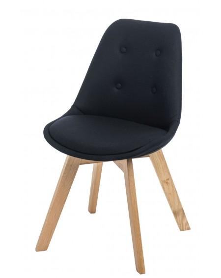 Krzesło Nord Cross Tap czarne