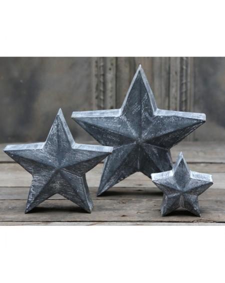 Gwiazda metalowa stojąca