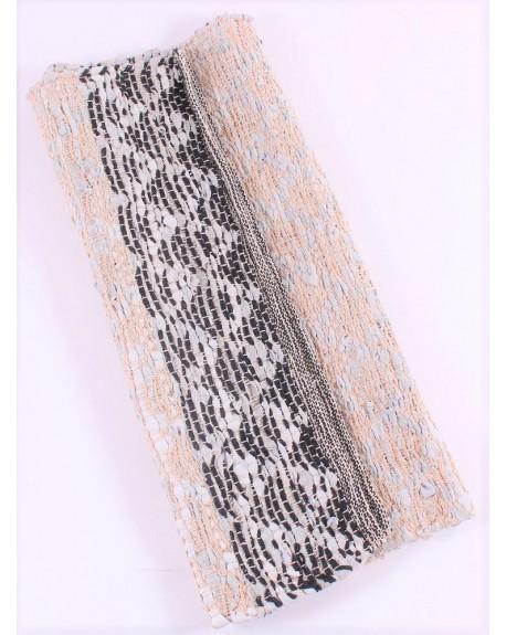 Chodnik dywan skórzany 60x90