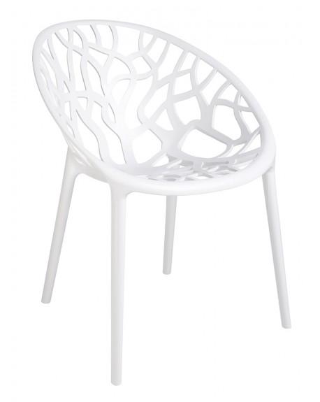 Krzesło Coral białe