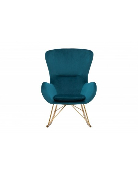 Fotel bujany SCANDINAVIA zielony