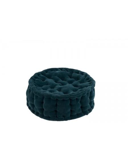Pufa Round Cotton Azure