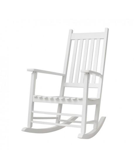 Fotel bujany Pleasure biały