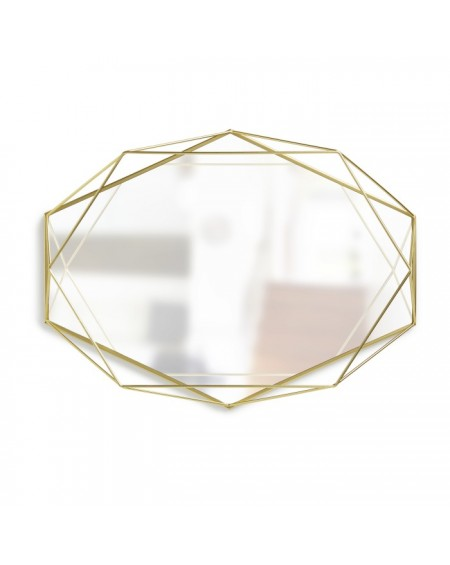 Lustro złote Prism
