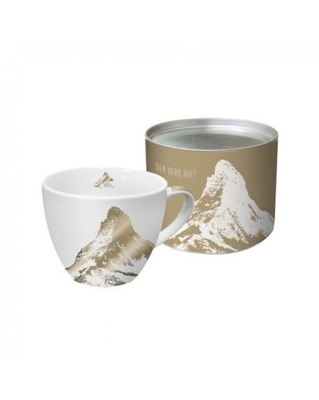 Kubek porcelanowy Mountain gold