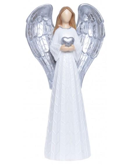 Figurka świąteczna Anioł ze skrzydłami
