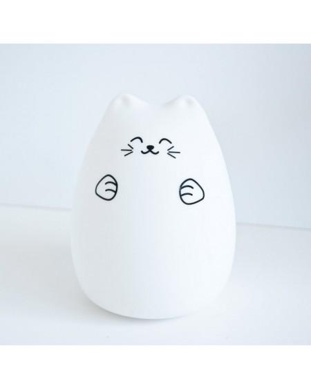 Lampka silikonowa Kotek szczęśliwy