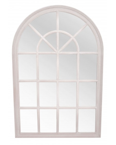 Lustro okno białe