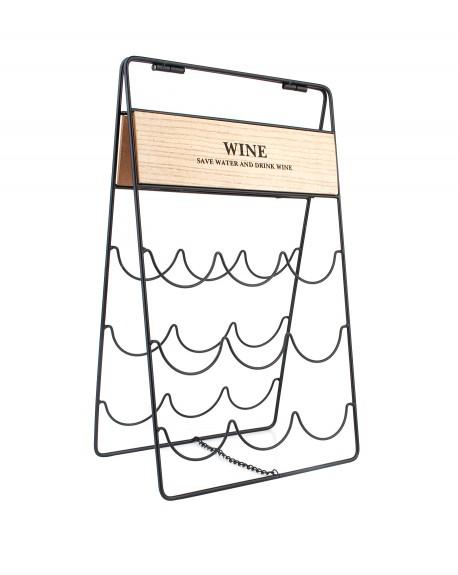 Stojak na wino rozkładany