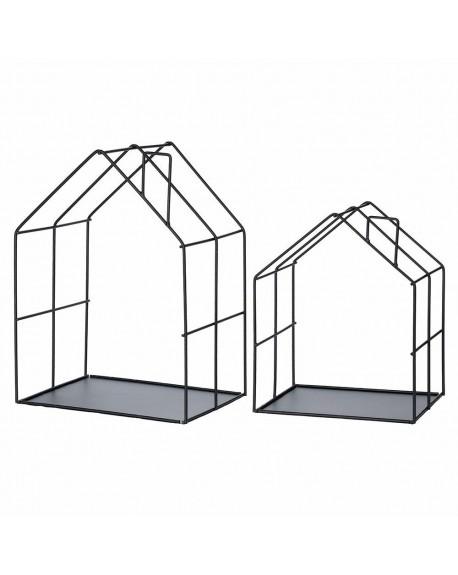 Półka metal domki
