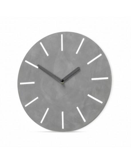Zegar ścienny cementowy