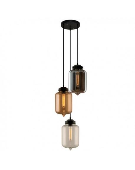 Lampa wisząca London Loft 2 CO mix