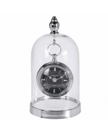 Zegar w szklanej kopule