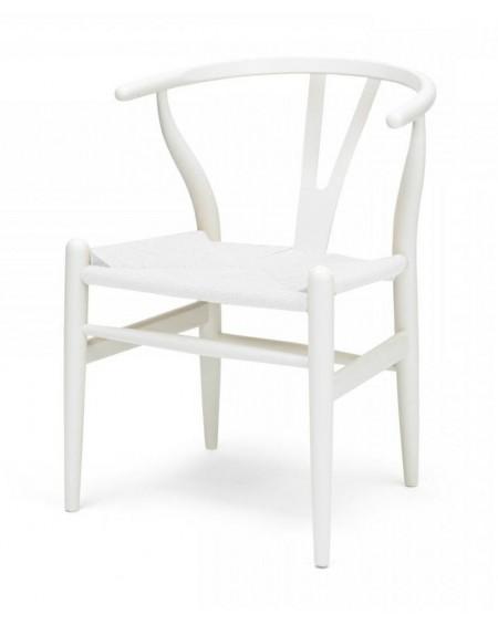 Krzesło Wood full white
