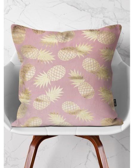 Poduszka dekoracyjna Gold Pineapples