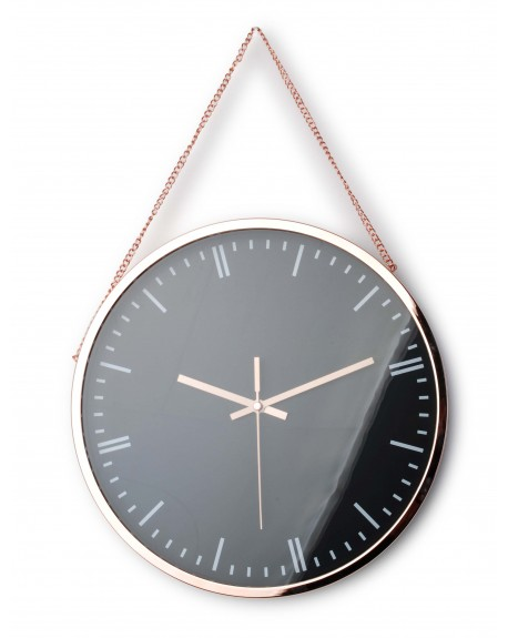 Zegar na łańcuszku copper