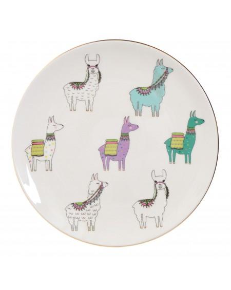 Talerz ceramiczny Lamy
