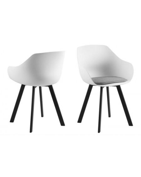 Krzesło Tina Black białe