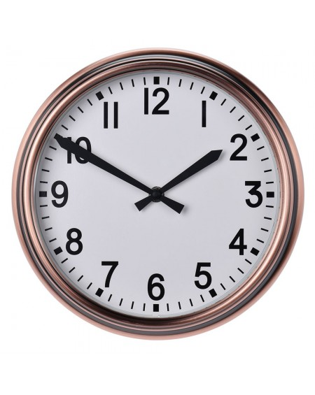 Zegar ścienny miedziany 25 cm