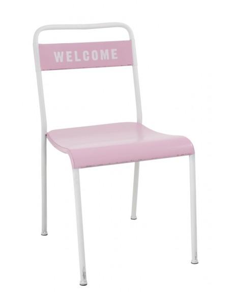 Krzesło metalowe Welcome