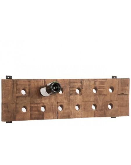 Wieszak na butelki wina Wood
