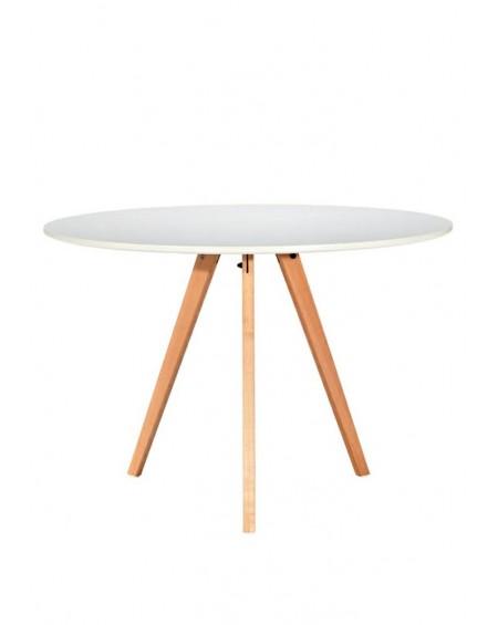 Stół Tripod 80 biały