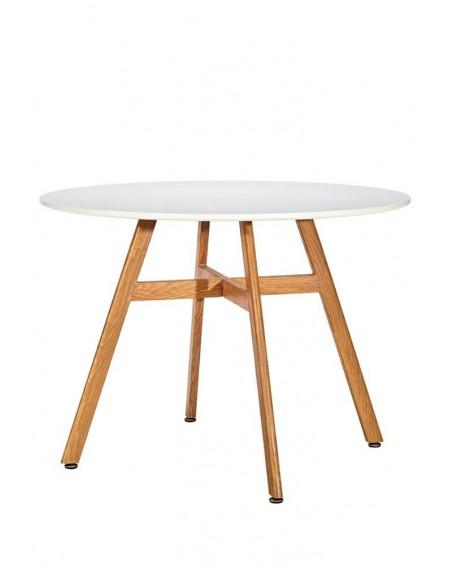 Stół Flat biały 100 cm