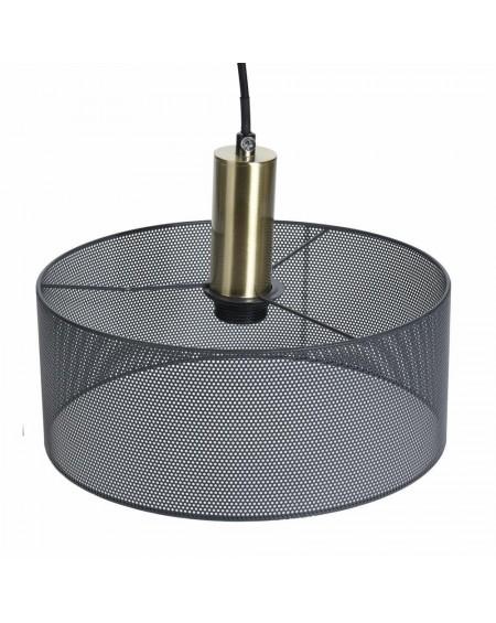 Lampa wisząca z siateczki okrągła