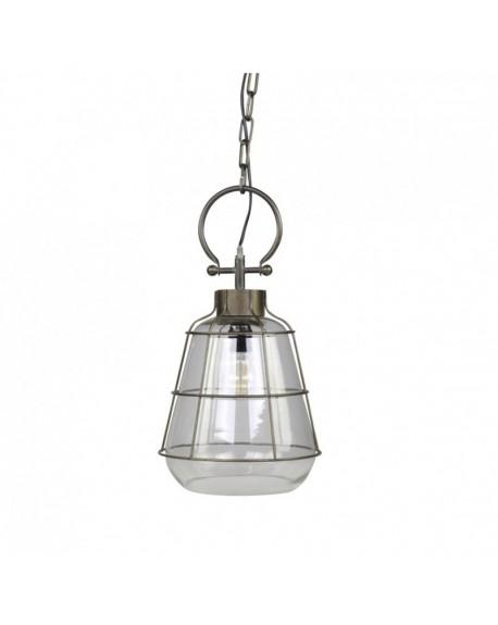 Lampa wisząca szklana Factory mniejsza