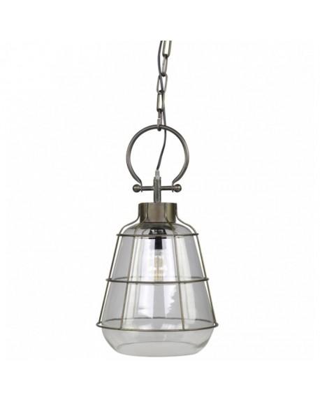 Lampa wisząca szklana Factory większa