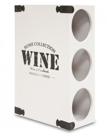 Stojak na wino biały