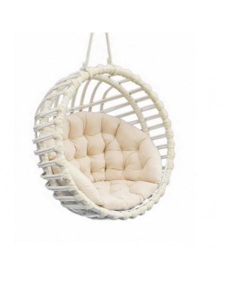 Fotel wiszący wiklinowy