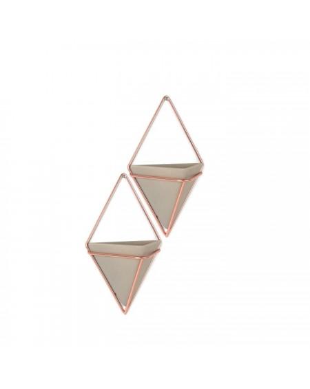 Pojemnik doniczka 2 szt. Triangle