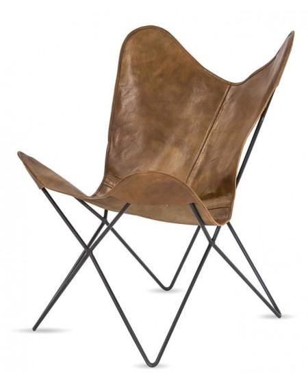 Krzesło fotel Lounge eko-skóra