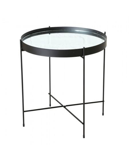 Modish Stolik kawowy metalowy z lustrem - MIA home passion HP15