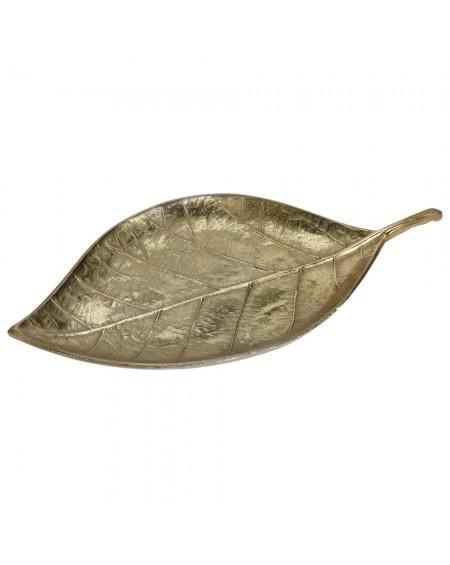 Patera złota Liść