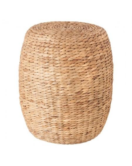 Stolik pufa z trawy morskiej