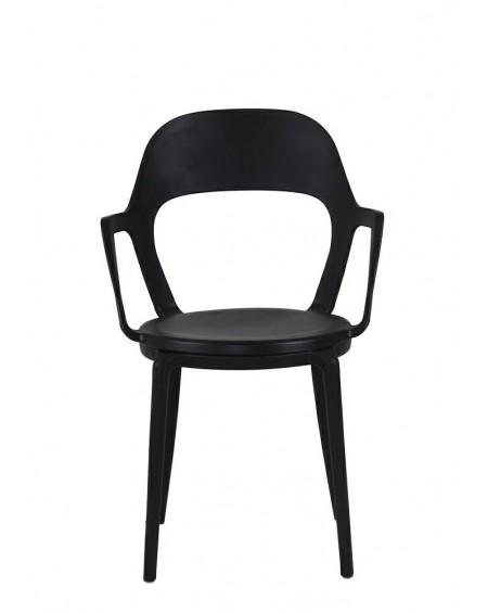 Krzesło Fomat Arm czarne