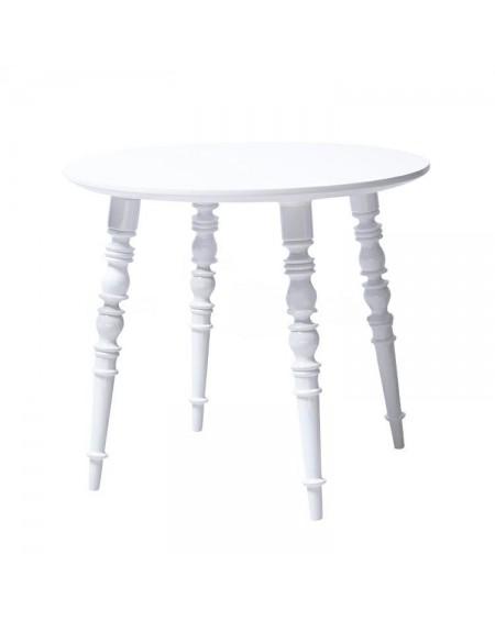 Stolik kawowy biały Baroque