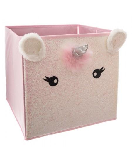 Pudełko na akcesoria różowe