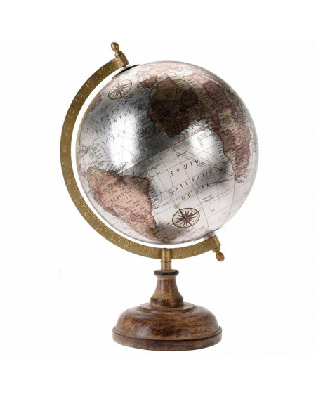 Globus ozdobny metaliczny