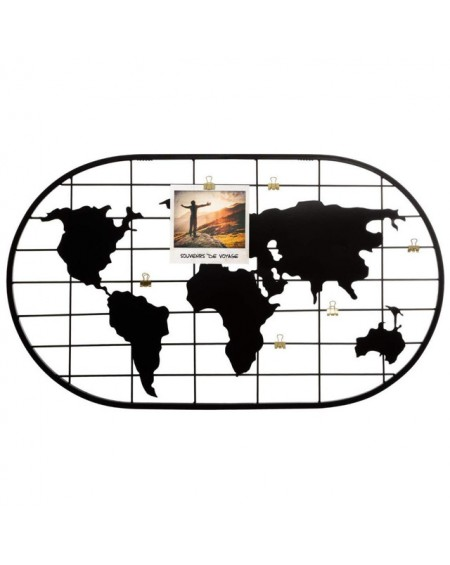 Ramka organizer Mapa świata